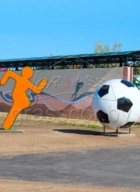 Спортсмен с мячом