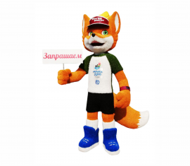 Талисман II Европейских игр лисёнок Лесик